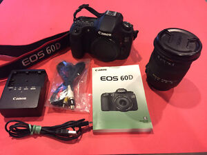 Canon 60D Digital SLR with SIGMA 17-50mm F2.8 EX DC HSM Lens