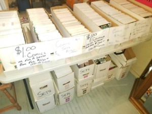 1000's of comics for sale. $1 each. Individual comics and sets.