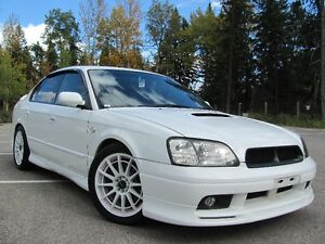 ONLY 65000km!! 260hp Subaru Legacy B4 RSK Twin Turbo!