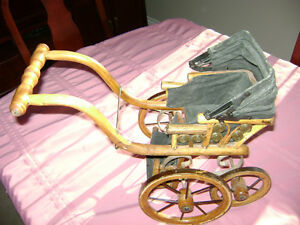 Antique/Vintage Victorian DOLL Carriage (Over 100 years old)