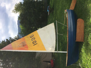 8' rowing, sailing dingy