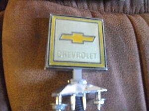NOSChev square body  hood badge