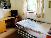 Large spacious room with single bed