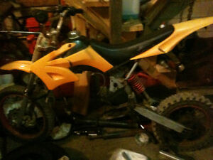 motocross 125 cc a vendre