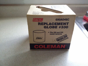 Coleman Lantern Replacement Glass Globe #330 690A48C