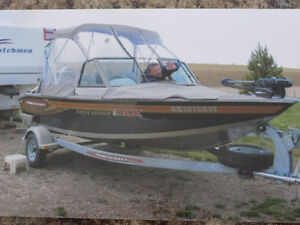 PRINCECRAFT FISHING BOAT FOR SALE