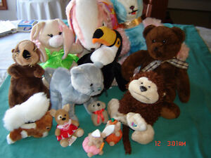 Plush stuffed animals .....and more.....