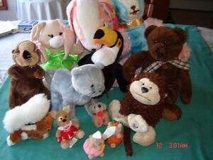 Plush stuffed animals ..... London Ontario image 1