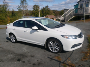 2013 Honda Civic EXL auto loaded!!!