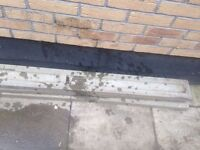 4x concrete gravel boards