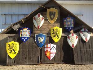 10  bouclier médiéval