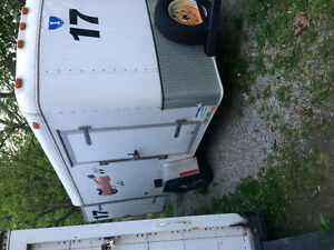 Nice 6x10 enclosed trailer.