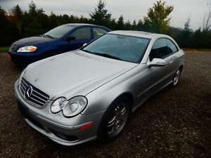 2003 Mercedes-Benz CLK-500 Sport AMG Coupe (2 door) London Ontario image 3