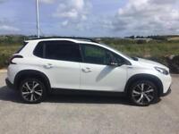 2017 Peugeot 2008 SUV BLUE HDI 120 S/S GT Line Manual Hatchback