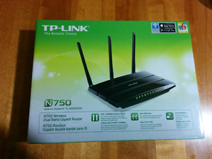 TP LINK dual band router N750