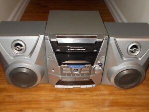Panasonic 5 Disc stereo