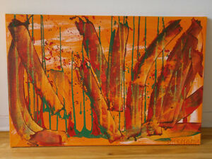 "Acrylic on Canvas - ORIGINAL - 24 X 36 """