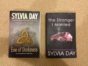 SYLVIA DAY books -$7.00