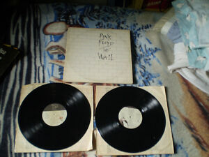 pink floyd the wall album double 33 tour Lp