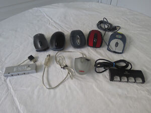Wired/Wireless Mice - USB 2.0 Hubs