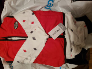 Brand new with tags baby boy outfits lot size 6m 9m & 12m