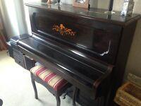 FREE John Spencer & Co. Piano Antique Ornate