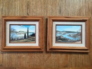 Original Oil Paintings by V.Hopkins