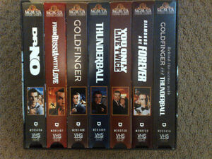 Collectible James Bond 007 Deluxe Edition  VHS Gift set London Ontario image 3