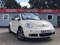 2007 Volkswagen Beetle Luna 8v Convertible Low Miles 1.6