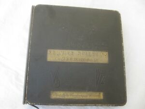 Original Factory FORD Service Bulletins Binder Book