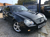 ✿07-Reg Mercedes-Benz C180 SE Kompressor Auto, Coupe ✿NICE EXAMPLE✿