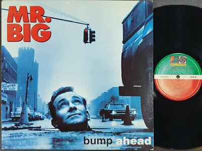 MR. Big - Bump Ahead [ 1993 Korea Orig 1st Vinyl ] EX w/Insert