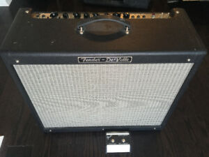 Fender Hot Rod Deville 2x12 USA + footswitch, cover + docs