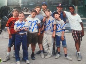 """""""The Sandlot"""" 10 x 8 Photo Signed By Five of The Actors With COA"""
