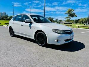 2011 Subaru Impreza MY11 R (AWD) White 4 Speed Automatic Hatchback Southport Gold Coast City Preview