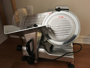 coolers, meat slicers, ice machine, warm table, mixer, grill
