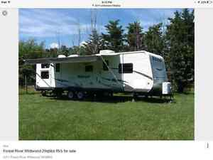 Wildwood 29' Quad bunk by Forest River