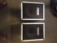 Vintage Traynor CS-110T Speakers
