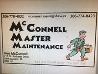 McConnell Master Maintenance Services