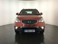 2014 SSANGYONG KORANDO CSX 4WD 1 OWNER FROM NEW SERVICE HISTORY FINANCE