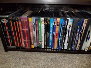 DVD & Blu-Ray Movies And TV Shows Lot