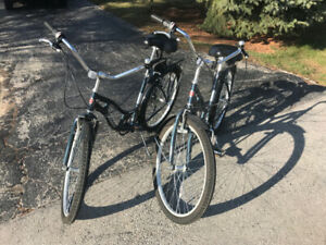 Matching Bicycles - Schwinn Memento