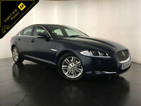 2013 JAGUAR XF LUXURY V6 DIESEL AUTOMATIC 1 OWNER SERVICE HISTORY FINANCE PX