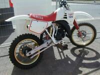 YAMAHA YZ125 1987 VERY TIDY MX BIKE