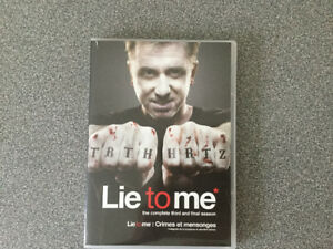 Lie to me, 3e et finale saison. DVD