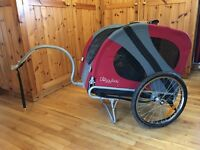 Inner Wolf DoggyRide Novel '09 Bicycle Trailer Colour: Red