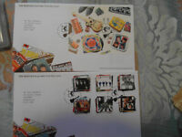 beatles first day of issue from liverpool stamp collection