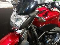 HONDA NC750S ABS NC750SAE in Red Low Mileage,Data Tag, Levers, Tinted Fly ...