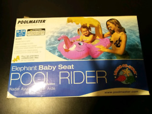 Elephant Baby Seat Pool Rider - NEW IN BOX