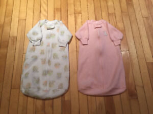 Carters fleece sleep sacs